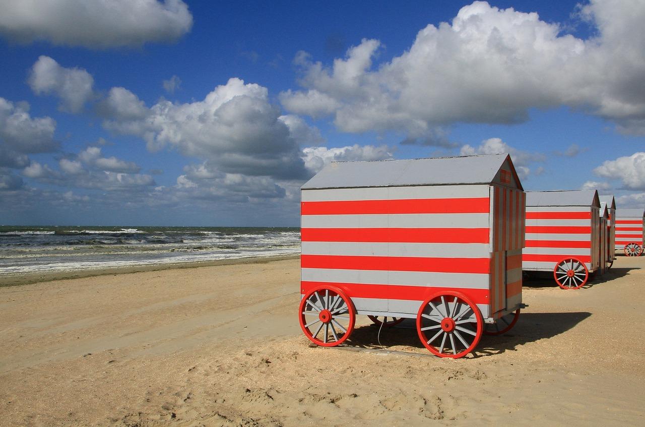 mobilní domek plážový